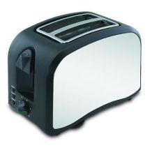 Omega Two Slice Stainless Steel Toaster Black 30151