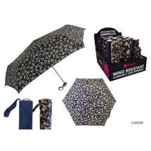 KS Brands UU0820 Umberella Supermini Handbag Size Brolly Printed Patern Assorted