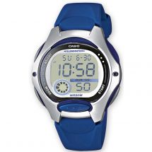 Casio LW200/2AV Ladies Digital LED Light Watch with Resin Case & Band - Blue