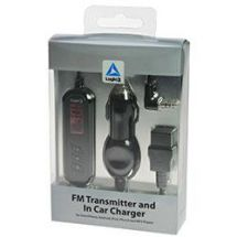 Logic3 MIP168 FM Transmitter and In Car Charger for iPod, iPhone and MP3 Players