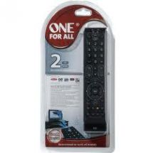 One For All URC7120 Universal Remote Control Essence 2 in 1 TV Freeview Simple