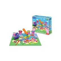 Peppa Pig PEPP008 Mega Dough Play Set 4 Dough Packs and Loads of Accessories New
