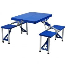 BoyzToys Lightweight Folding Picnic Table RY624
