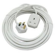 5 M Metre 1 Way Mains Plug Socket Extension Lead Long