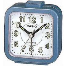 Casio TQ141 Mini Beep Analogue Bed Alarm Clock Blue