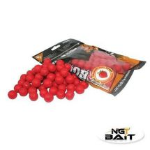NGT BOIL Fishing Bait Boilies Next Generation Tackle 250g Bag Strawberry Flavour
