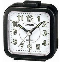Casio TQ141 Mini Beep Analogue Bed Alarm Clock Black