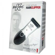 Remington HC620KOS Mens Hair Clipper Trimmer King Of Shaves Rechargeable - White