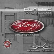 Stagg CLNTAL Nylon Silver Plated Wound Set Angel Lopez Classical Guitar Strings