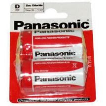 Panasonic D Standard Non Rechargable Size Battery x 2