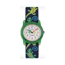 Timex T72881 Kids 'Geckos' Stretch Band Analogue Watch Two Tone Strap Colour New