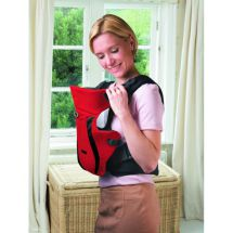 Tomy 1764 Freestyle Premium Baby Carrier Lumbar Support Padded Harness Red Black