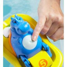 Tomy Bath Time Hippo Pedalo Singing Bubble Machine Float