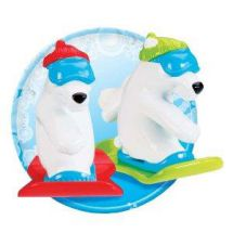 Tomy Bath Time Snowboarding Polar Bears Ski Lift