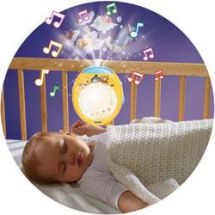 Tomy Winnie The Pooh Lullaby Dreams Baby Night Light Show Projector