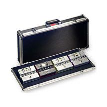 Stagg UPC688 Black ABS Case for Guitar Effect Pedals With Aluminium Edging - New