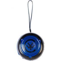Yo Portable Rechargable Mp3 Player Speakers Black Blue