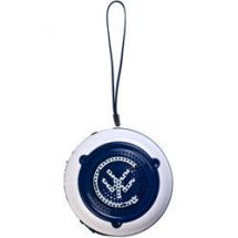 Yo Portable Rechargable Mp3 Player Speakers White Blue