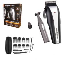 BaByliss 7499U Mens PowerGlide Corded/Cordless Hair Cuting Clipper 21 Piece Set