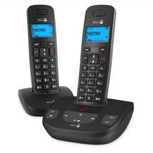 Doro Formula 8 Twin Cordless Telephone Caller ID Display Answering Machine New
