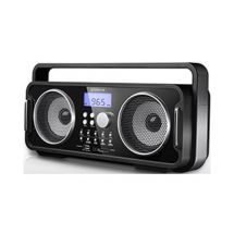 Groov-e GVSP480 Rechargeable FM/USB/SD MP3 Bluetooth Music System USB Charging