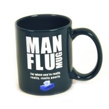 Gift House HH121 Man Flu Mug For When You're Really Poorly 325ml Ceramic Mug New