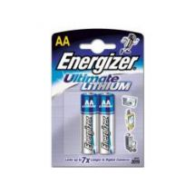 Energizer Ultimate Lithium Battery AA Size High Power