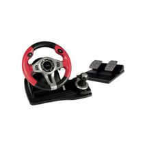 Logic3 PSU448 TopDrive GT 3-in-1 Gaming Steering Wheel and Pedals For PS2 PS3 PC