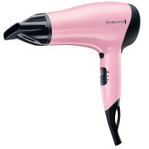 Remington D3110 2000w 3 Heat Setting Ceramic Ionic Hair Dryer Gift Set Case Pink