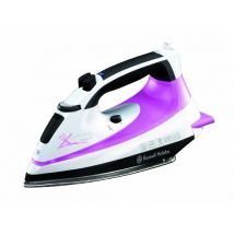 Russell Hobbs 14991 Automatic Steam Xpres Clothes Iron Self Clean 2m Lead Purple