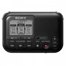 Sony ICD-LX30 High Quality Portable MP3 Black Dictation Recorder SD Dictaphone