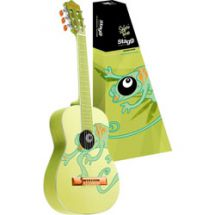 Stagg C510 1/2 Size Childrens Acoustic Classical Guitar Charmeleon Graphic Green