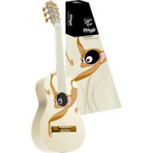 Stagg C510 1/2 Size Childrens Acoustic Classical Guitar Monkey Graphic - Cream