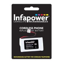 Infapower Cordless Phone Replacement Battery 2.4v JST-EHR2 South Western Bell
