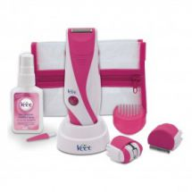 Veet 5 in 1 Mains Rechargeable Lady Shaver Epilator New