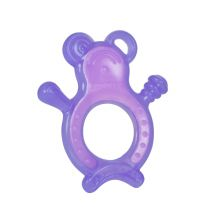 Tomy Y6001MP Baby Teething Ring 3 Steps Silicone Gummy Chewy Assorted Colours