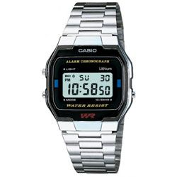 Casio Mens Classic Digital Steel  Watch