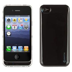 buy online c7fd1 9b50c Griffin GC23160 Reserve Power Battery Back Up Black Protective Case iPhone  4 4S