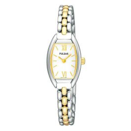 Pulsar Ladies Watch Two Tone Watch PEGF42X1