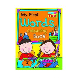 Holland Publishing My First Words Colouring Book 54H