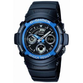 Casio AW-591-2AER 200 Meter Water Resistance G Shock Combination Wrist Watch