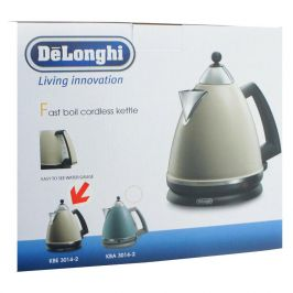 Delonghi KBE3014 3000 Watt High Grade Stainless 1.7 Litre Kettle Latte Coloured