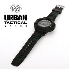 IGGI 042 Urban Tactical Watch With Camouflage Pattern Combat Black - New