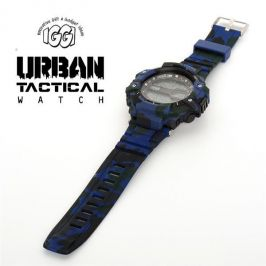 IGGI 043 Urban Tactical Watch With Camouflage Pattern Marine Blue - New