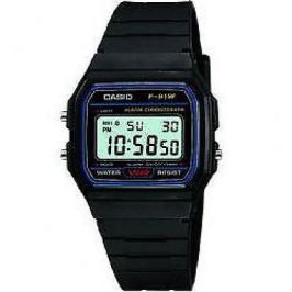 Casio Digital Unisex Black Watch