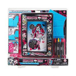 Monster High Creepy Mix & Match Colouring Set MHMM1
