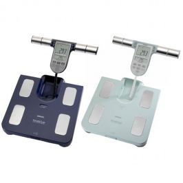 Omron BF511 Body Composition Monitor BMI Fat Muscle Weighing Scales - Dark Blue