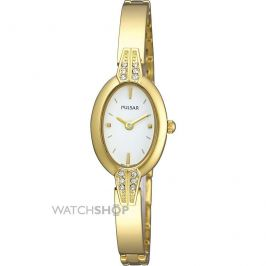Pulsar PEGF86X1 Quartz Analogue Movement Gold Plate Ladies' Bracelet Watch - New