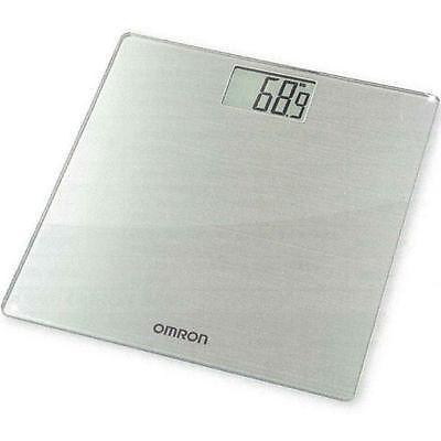 Omron hn288 bathroom scales digital 180kg battery powered for Big w bathroom scales