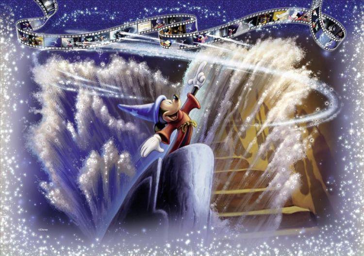 Ravensburger Disney Moments Filmstrip Pieces Jigsaw - Ravensburger satellite world map puzzle